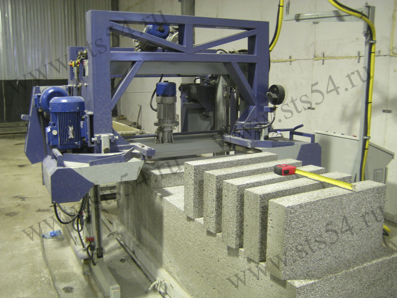 Automated Line For Polystyrene Concrete Blocks Siberian